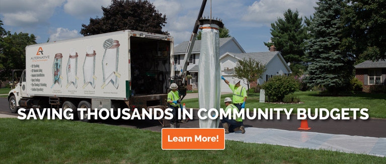 sewer manhole rehabilitation in West Virginia